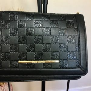 STEVE MADDEN crossbody bag. Black vegan leather